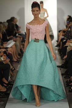 The Best of: Oscar de la Renta Wiosna Lato SS2013. Mercedes Benz Fashion Week New York SS 2013