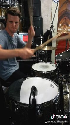 Drum Solo, Drum Music, Music Guitar, Learn Drums, How To Play Drums, Drums Studio, Home Studio Music, Nick Adams, Guitar Chords For Songs