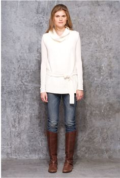 The sweater, the boots...I <3 it all!