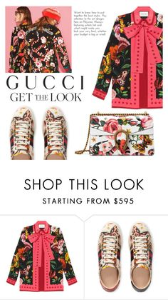 """Presenting the Gucci Garden Exclusive Collection: Contest Entry"" by namirakhansa ❤ liked on Polyvore featuring Gucci and gucci"