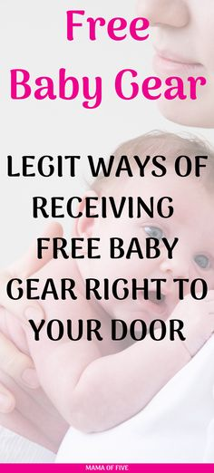 Here is a list of free stuff for both baby and mom. From pregnancy pillows to carseat canopies there is something for everyone #freebabystuff #freemomgear #freebabygear