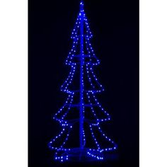 Santa's Best 8 ft. Outdoor LED Brown Bare Branch Tree Sculpture ...