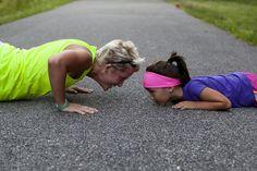 Uma mãe atleta