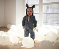 niemowlak - moda - kombinezony-Kombinezon dziecięcy z uszami