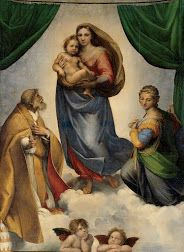 The Sistine Madonna Raphaël