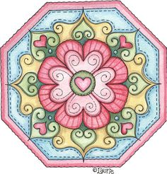 Doodlehearts02 Mandala Design, Mandala Art, Doodle Drawings, Doodle Art, 2 Clipart, Decoupage Paper, Tole Painting, Colorful Drawings, Pattern Art