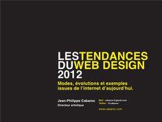 Tendencias en Diseño Web 2012