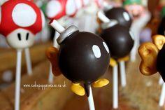 mario cake pops!!!