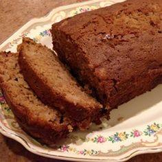 Debbies Amazing Apple Bread - Allrecipes.com