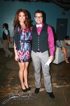 "Héctor Joaquín & Jennifer Guevara in ""Fashion Project"" on ""Ahora Es Que Eh"" Telemundo Puerto Rico. Sundays 8-10pm. Photos: Jean Nieves Art & Photography"