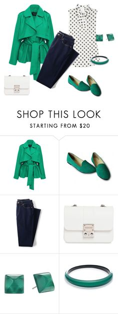 """outfit 4821"" by natalyag ❤ liked on Polyvore featuring Paper London, Moschino, Lands' End, Design Inverso and Alexis Bittar"