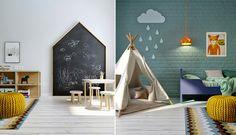Kids room / Chambre d'enfant / Colorful bedroom for kids/ Décoration chambre enfant, idée déco enfant, chambre enfant colorée, chambre enfant arty, Lovely Market
