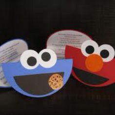 Elmo party invitation idea birthday ideas for the kids elmo invites filmwisefo