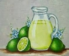 Resultado de imagem para pintura em tecido jarro