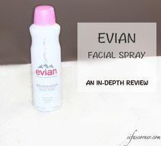 Review: Evian® Facial Spray