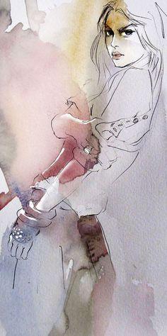 Pose - impression sur papier d'art : Imprimés par baldeva