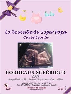 Etiquette personnalisée par www.mabouteille.fr