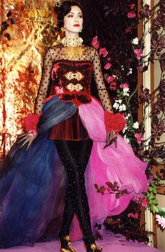 Christian Lacroix Haute Couture Fall-Winter 1989