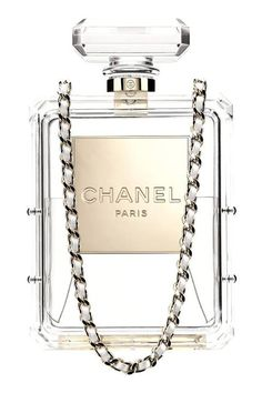 The most whimsically wonderful Chanel No.5 clutch bag