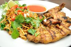 Chargrilled #chicken Jawa, with #oriental chilli & #mango salsa. Try it now at any of our restaurants, http://www.bananatree.co.uk