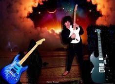 Guitarist Randy Young. Follow on facebook https://www.facebook.com/youngthunderrocks