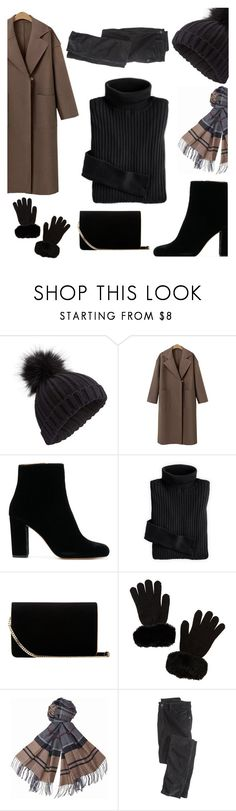 """""""~8"""" by giulia-barsotti ❤ liked on Polyvore featuring Miss Selfridge, L.K.Bennett, Charlotte Russe, Barbour and Wrap"""