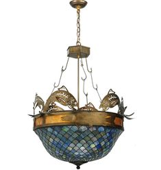 Lake House Ceiling Fixture.  Made in the USA!