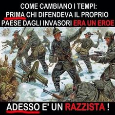 """MIO NONNO È STATO UN GRANDE """"RAZZISTA """" !!!!"""