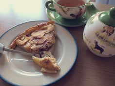 viernes entre fogones: tarta de manzana light   Mi Low Cost