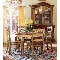 Lowest price online on all Hooker Furniture Vineyard Round Dining Table with 20 Inch leaf - Round Dining Table Sets, Dining Room Sets, Dining Room Design, Dining Room Furniture, Hooker Furniture, Dining Tables, Oval Table, Round Tables, Amish Furniture