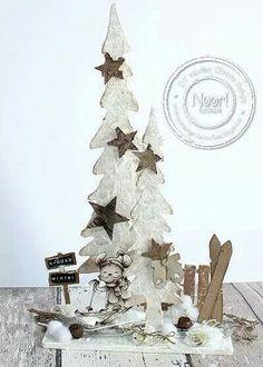 Dutch Doobadoo mdf kerstboom