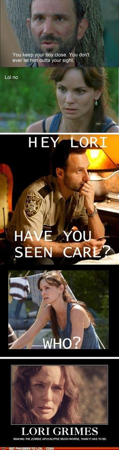 Walking Dead Memes: Lori is the Worst