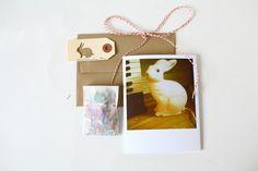 Bunny - 4x5 card via Etsy.