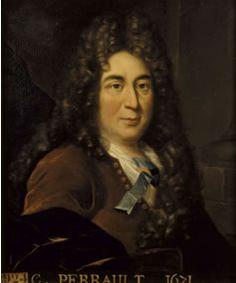 Charles Perrault (12 januari 1628 – 16 mei 1703) - Anoniem portret in het Musée National de Versailles et des Trianons, Versailles