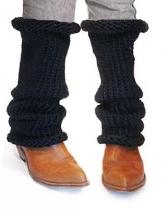 Knifty Knitter/leg warmers
