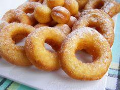 Kuchnia szeroko otwarta: Oponki serowe najlepsze English Food, Onion Rings, Doughnut, Sweet Recipes, Appetizers, Cooking Recipes, Snacks, Cookies, Dinner