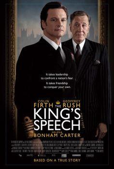 """The King's Speech"" - The story of King George VI - Colin Firth, Geoffrey Rush, Helena Bonham Carter"