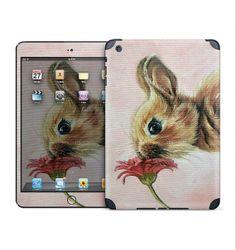 Bunny/ rabbit iPad skin for iPad Mini/Retina iPad by MimoCadeaux, $50.00