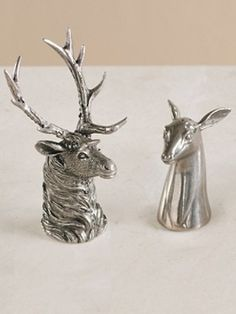 Elk And Doe Salt And Pepper Shakers  http://www.pendleton-usa.com/