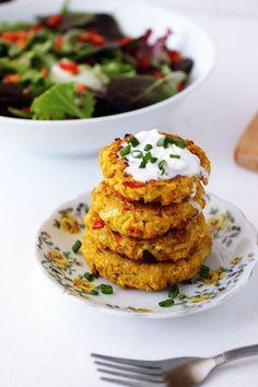 Cauliflower Chickpea Patties Healthy Vegan Chickpea Patties Recipe!