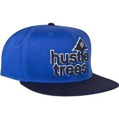 96f7f72cf7d LRG Core Collection Hustle Trees Men s Adjustable Sportswear Hat Cap - Blue    One Size