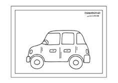 Rôzne dopravné prostriedky - omaľovánky. - Aktivity pre deti, pracovné listy, online testy a iné