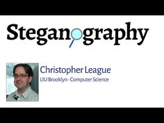 Steganography - YouTube Computer Science, Software, Digital, Youtube, Free, Youtubers, Computer Technology, Youtube Movies
