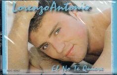 LORENZO ANTONIO EL NO TE QUIERE NEW-SEALED CASSETTE