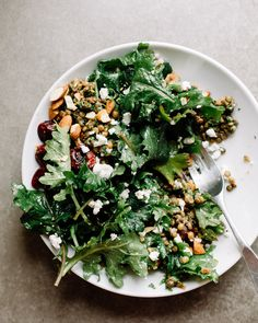 Baby Kale Salad with