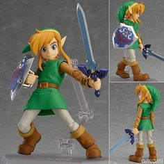 The Legend of Zelda 2: A Link Between Worlds Link Figma 284 PVC Action Figure Collectible Model Kids Toys Doll 14CM ACAF095