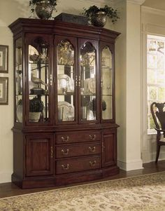 American Drew Cherry Grove Canted China Cabinet By Dining Rooms Outlet