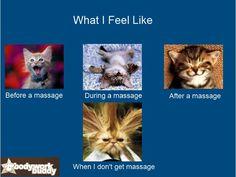 I love massage!