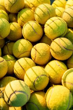 Details of a tennis balls by Bisual Studio - Stocksy United Tennis World, Le Tennis, Tennis Funny, Tennis Pictures, Softball Pictures, Tennis Wallpaper, Sports Wallpapers, Photo Wall Collage, Roger Federer