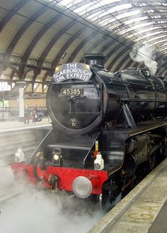 Black Five Locomotive, York station.